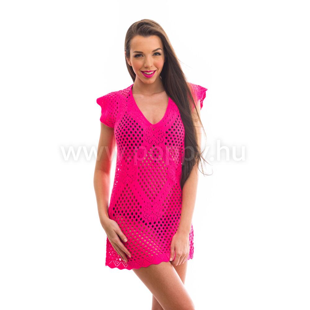 7df223debe Poppy Lace Pink Strandruha Katt rá a felnagyításhoz