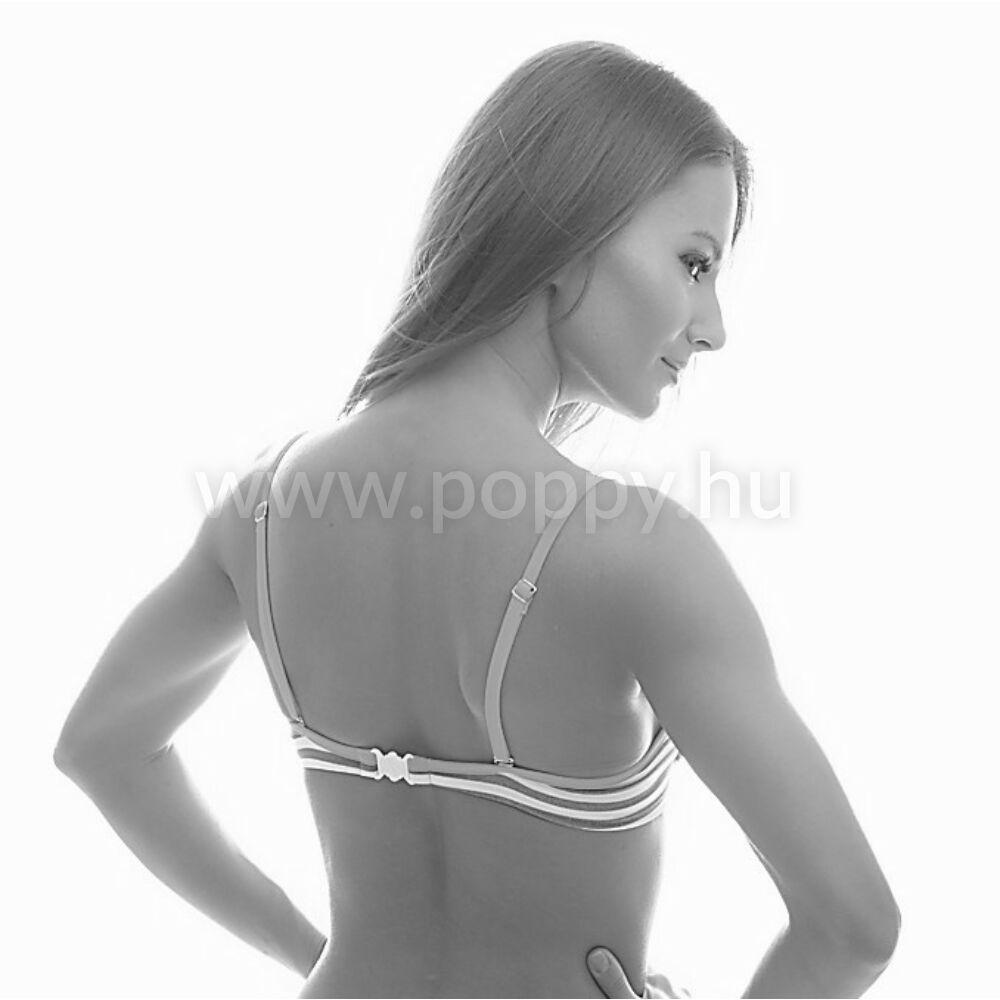 Poppy Pussy Monaco Királykék-Fekete-Fehér Bikini - Bikini KIÁRUSÍTÁS ... a365f79151