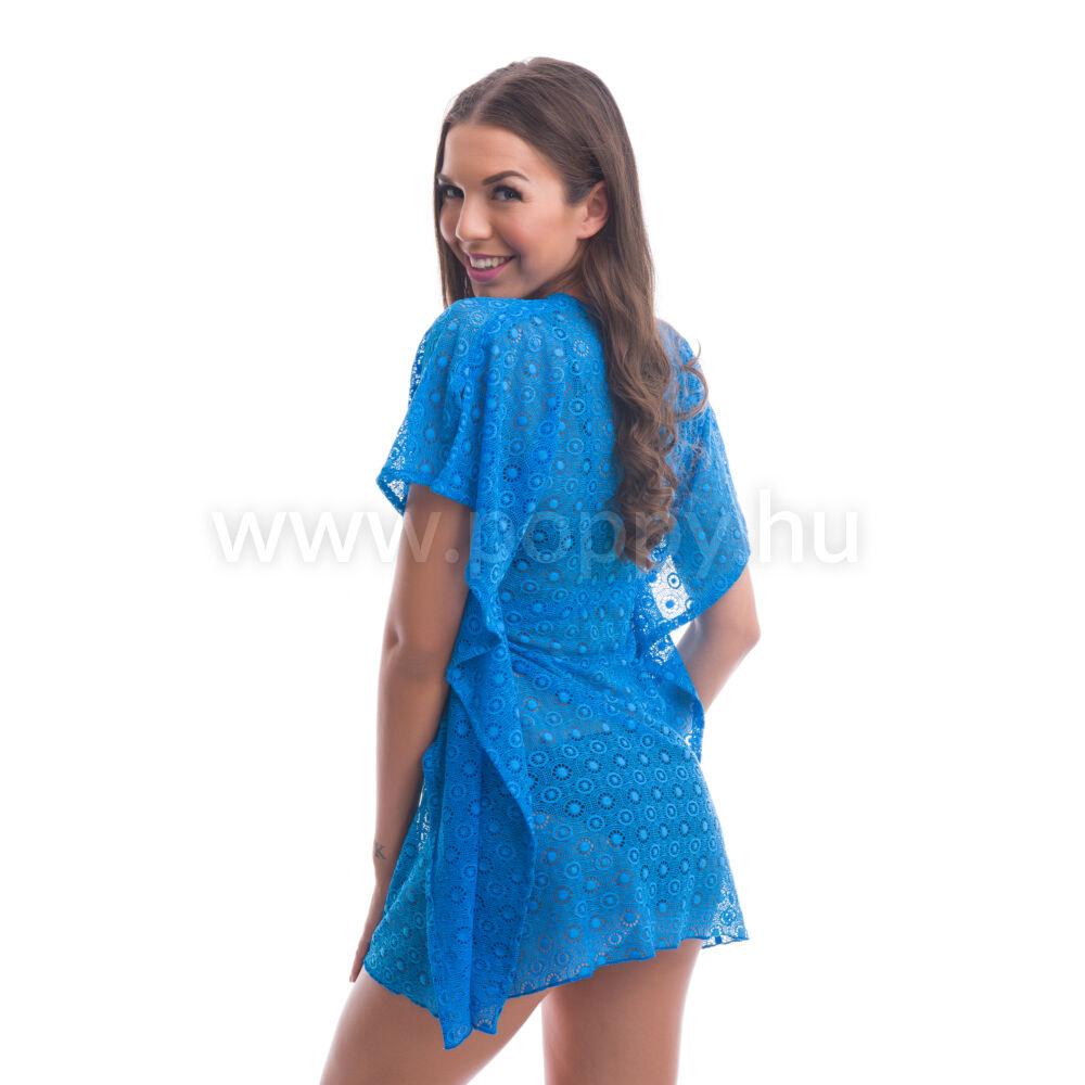6d89032aa1 Poppy Fabulon Kék Csipke Strandruha