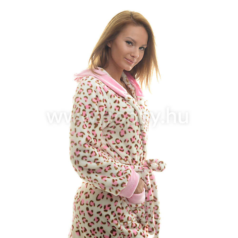 Poppy Deby Pink Ocelot Női Köntös de2ddfdafc