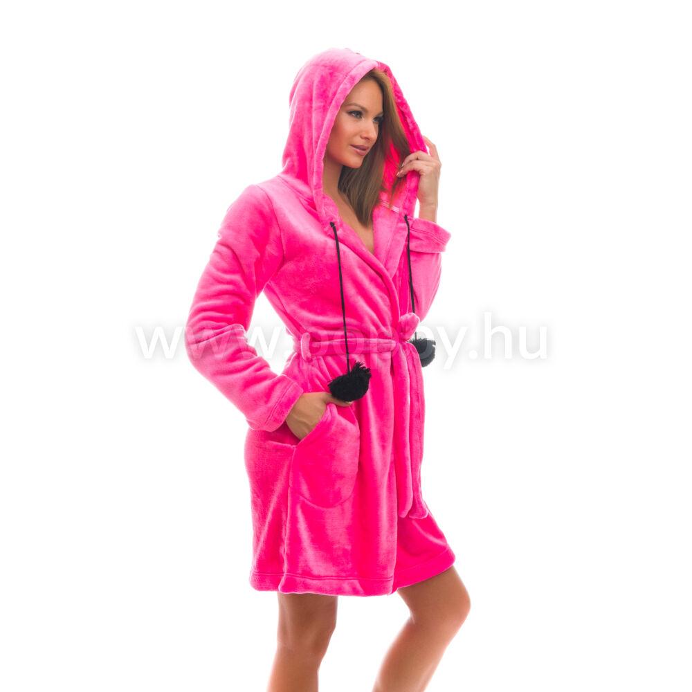 Poppy Long Pink Női Köntös eb463b4123