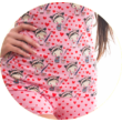 Poppy Freaky Festő Kislány Közép Pink-Szürke Trikó szett
