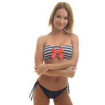 Poppy Ciklon Treasure Sötétkék-Fehér Bikini