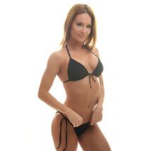 Poppy Crystal Fekete Bikini