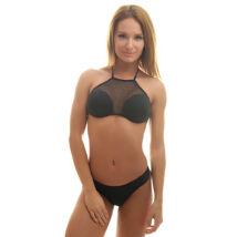 Poppy Denisse Genova Fekete Bikini, L