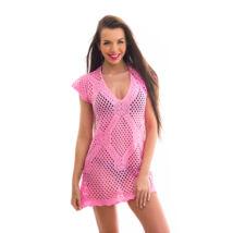 Poppy Lace Közép Pink Strandruha
