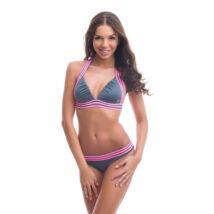 Poppy Lingerie 2019 Runway Szürke Bikini