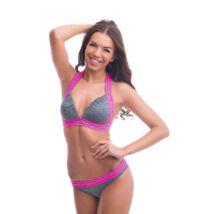 Poppy Lingerie 2019 Runway Melangeszürke Bikini