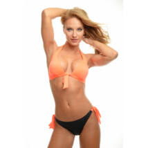 Poppy Outlet 2017 Bay Orange Bikini, M