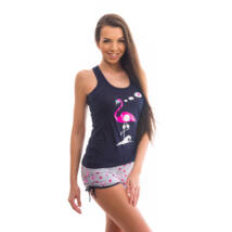 Poppy Freaky Flamingó Sötétkék Trikó szett