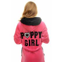 Poppy Girl DK Pink-Fekete Női Köntös