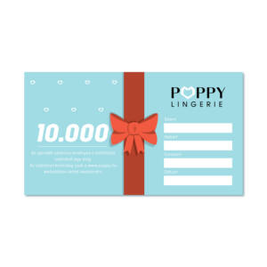 Poppy Ajándékutalvány, 10000 Ft