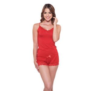 Poppy Gréti szett, Piros