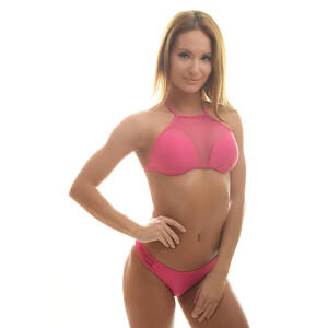 Poppy Denisse Genova Pink Bikini