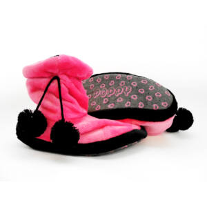 Poppy Pink-Fekete Csizma