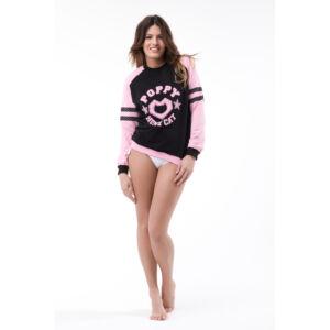 Poppy Princeton Fekete-Közép pink Felső