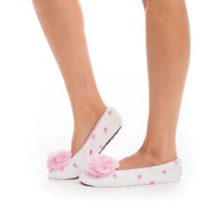 Poppy Aprószíves Ekrü-Közép Pink Mamusz