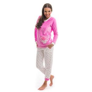 Poppy Nice Aprószives Közép pink Pizsama