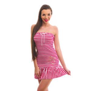Poppy Marine Piros-Fehér Strandruha