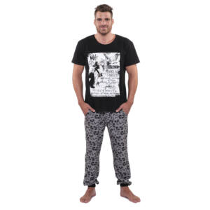 König UW Alex Long Férfi pizsama, Mickey