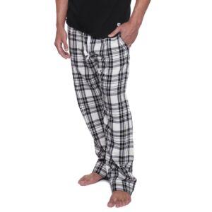 König UW Jim Férfi pizsamanadrág, Kockás fehér