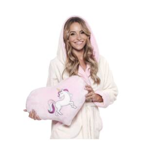 Poppy Be Unicorn Rózsaszín Párna