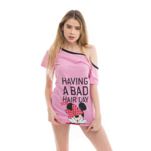 Poppy Aletta Minnie Bad Bow Közép pink Szett