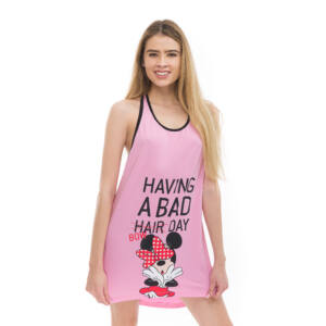 Poppy Summer Minnie Bad Bow Közép pink Ruha