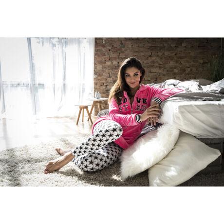 Poppy Pink Sweater Long Szett