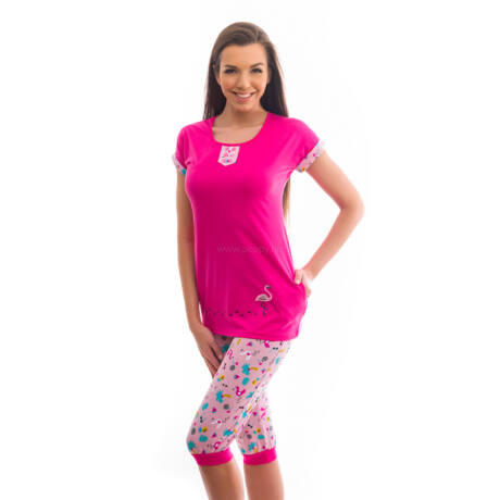 Poppy Polly Flamingó Pink Pizsama