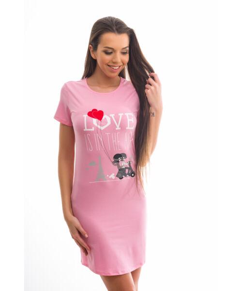 Poppy Begy Love Is In The Air Közép Pink Hálóing, L