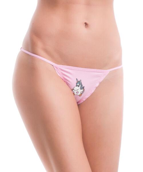 Poppy Suzy Unikornis Közép Pink Tanga