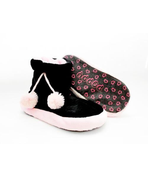 Poppy Fekete-Rózsa Csizma