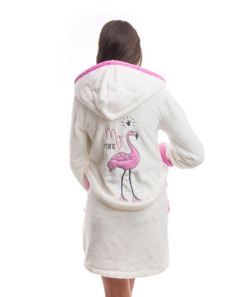 Poppy DK Flamingó Ekrü-Közép pink Köntös