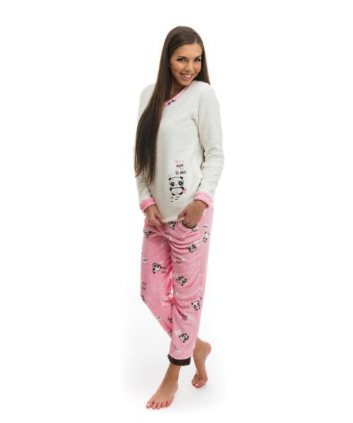 Poppy 2018 Nice Panda Rózsa-Barna Pizsama, L