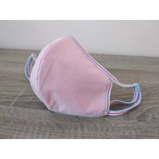 Arcmaszk, Normál, Közép pink csíkos
