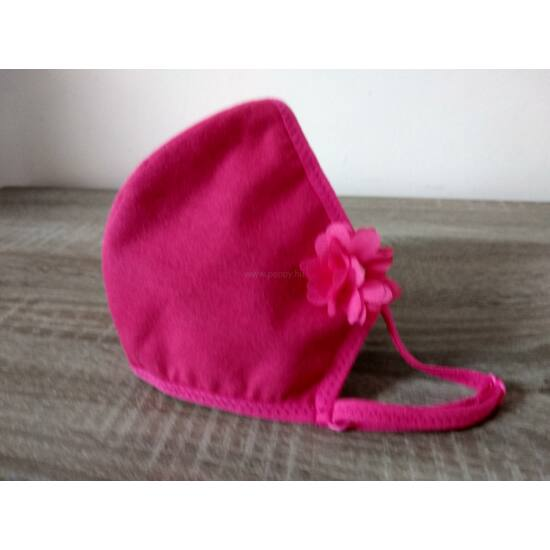 Luxury Arcmaszk, Pink, Virággal