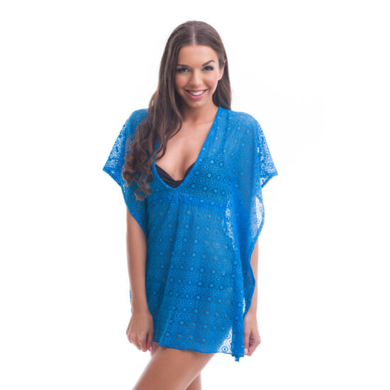 Poppy Fabulon Kék Csipke Strandruha