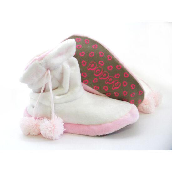Poppy Ekrü-Rózsaszín Csizma