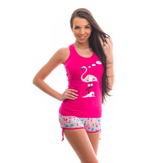 Poppy Freaky Flamingó Pink Trikó szett