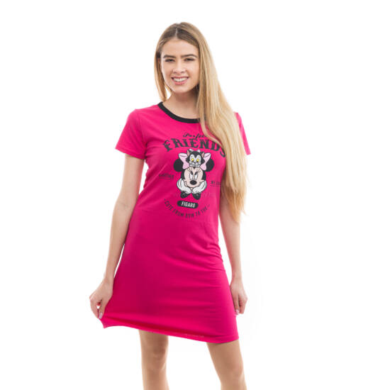 Poppy Begy Minnie Friends Sötétpink Hálóing