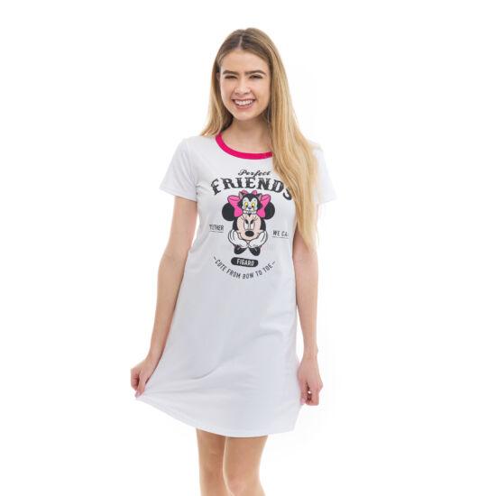 Poppy Begy Minnie Friends Fehér Hálóing