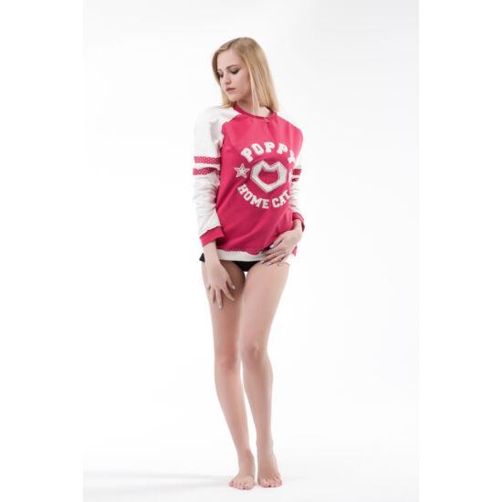 Poppy Princeton Pink-Ekrü Felső