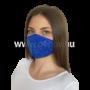 Kép 1/4 - Luxury Arcmaszk, Kék, Strasszos