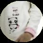 Kép 2/2 - Poppy 2018 Nice Panda Rózsa-Barna Pizsama, L