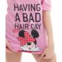 Kép 3/4 - Poppy Aletta Minnie Bad Bow Közép pink Szett