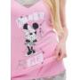 Kép 3/5 - Poppy Gréti Minnie Amaze Me Közép pink Trikó szett